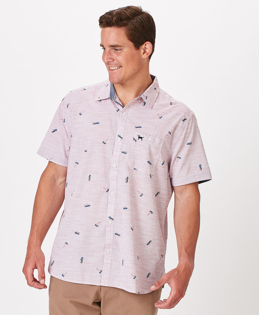 Mens Anthem Fayville Shortsleeve Shirt