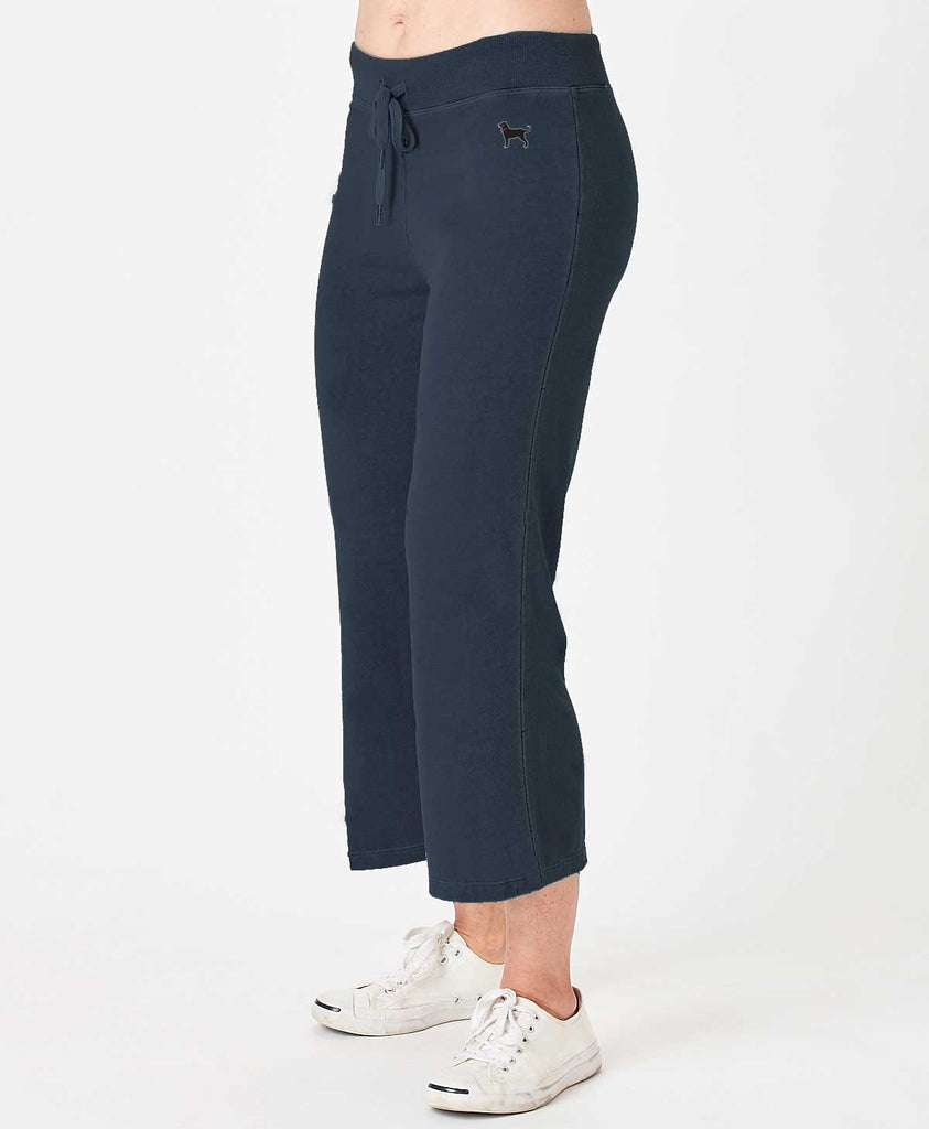 Ladies Coastline Solid Capri
