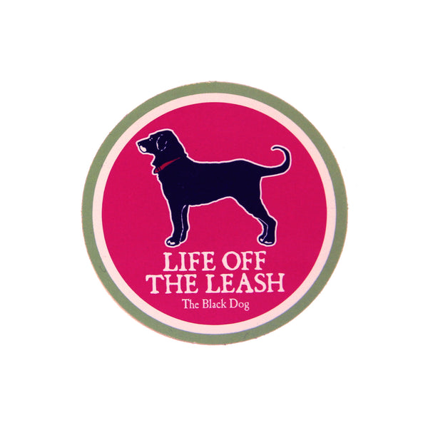 BD Life off the Leash Magnet