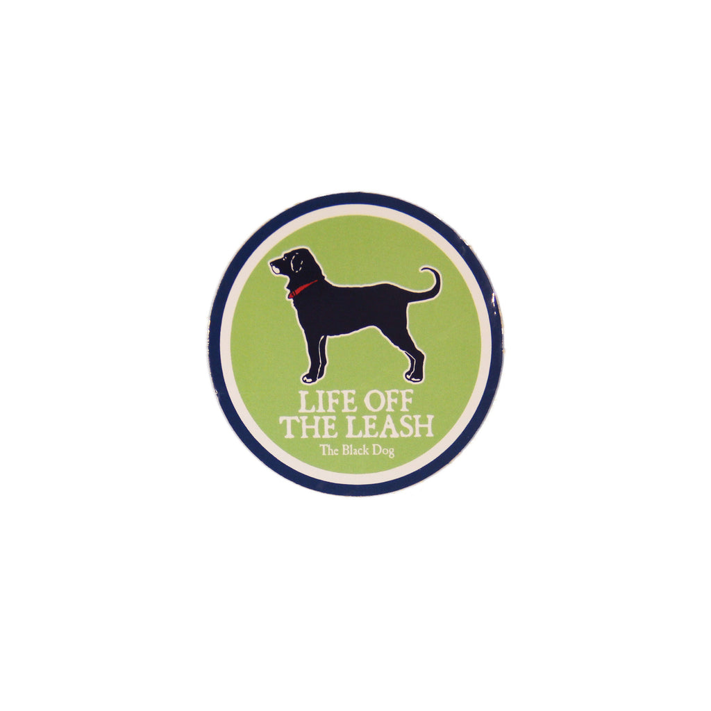 BD Life Off The Leash Sticker