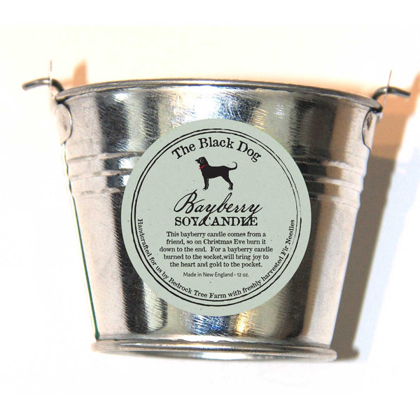 Galvanized Pail 12 OZ Soy Candle
