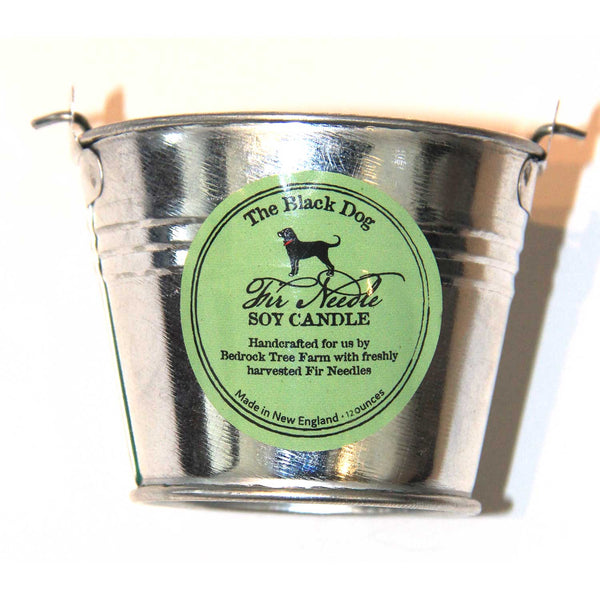 GALVANIZED PAIL 12 OZ. SOY CANDLE