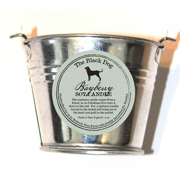 Galvanized Pail 3 OZ Soy Candle
