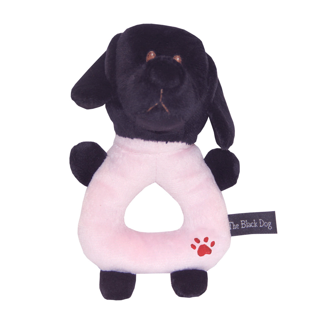 Lil Kids Plush Puppy Rattle