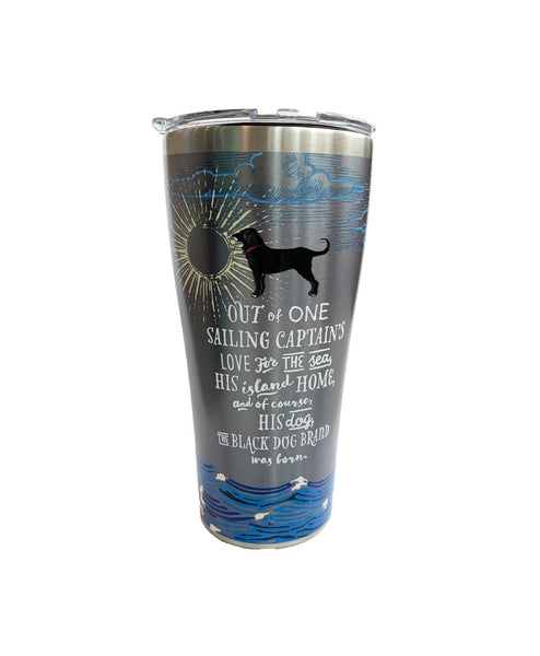 Etched Stainless 30 oz Tumbler