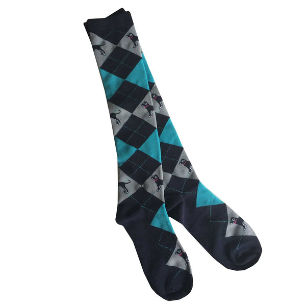 Argyle Boot Sock