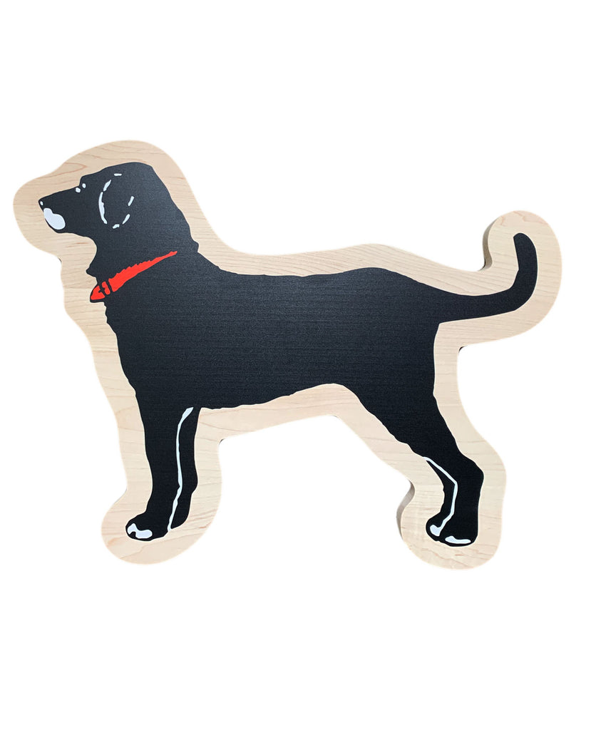 Black Dog Shape Cheese Board