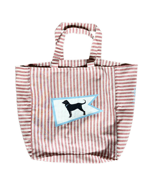 Beachfront Striped Market Tote