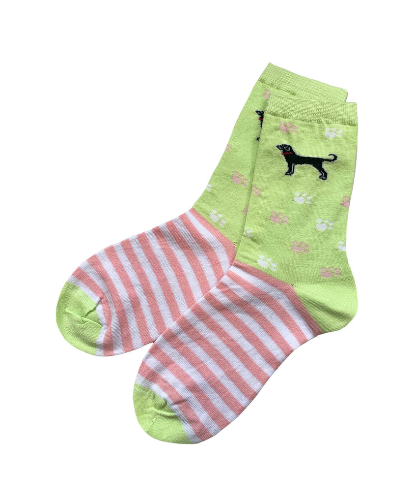 Stripes and Paws Sock