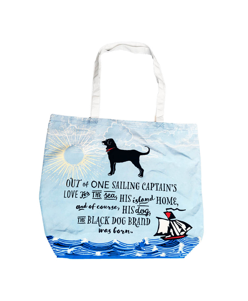 Captains Story Canvas Reusable Tote
