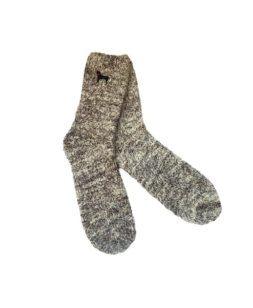 Adult Twister Marl Aloe Sock