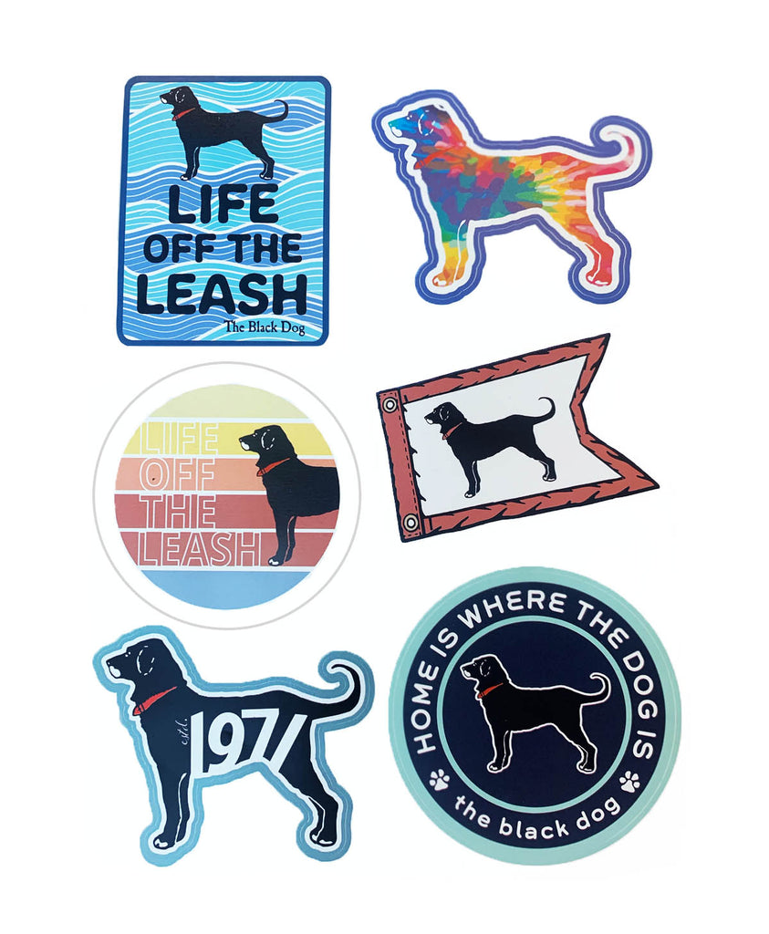 Summer Fun Sticker 6 Pack