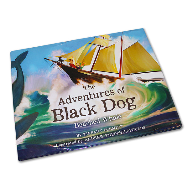 """The Adventures of The Black Dog: Beached Whale"" Storybook"