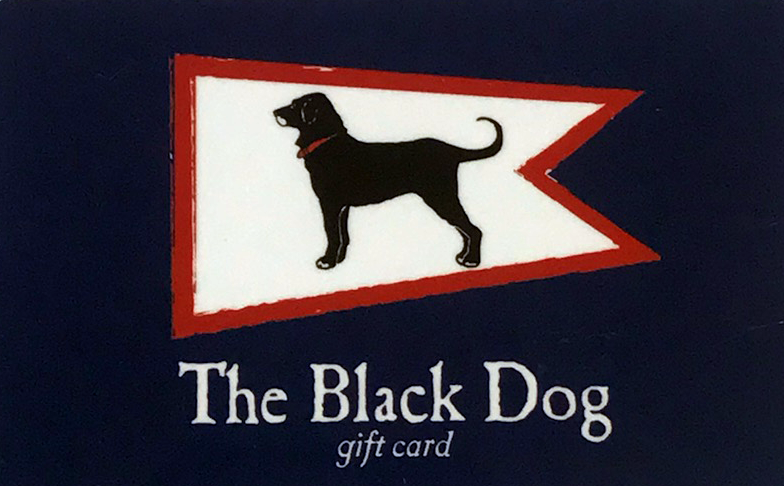 BLACK DOG GIFT CARD