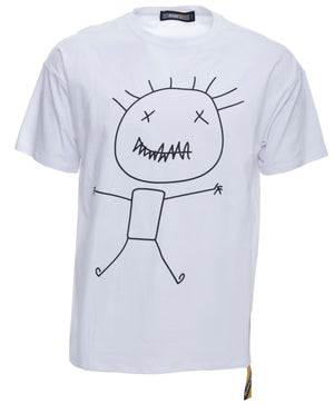 RXTS-20101 | Relaxed Fit Graphic T-Shirts, Stick Man