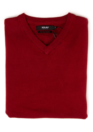 BXW-30071 | XRAY Boys V-Neck Sweater, Soft Slim Fit Middleweight Pullover Sweaters for Kids