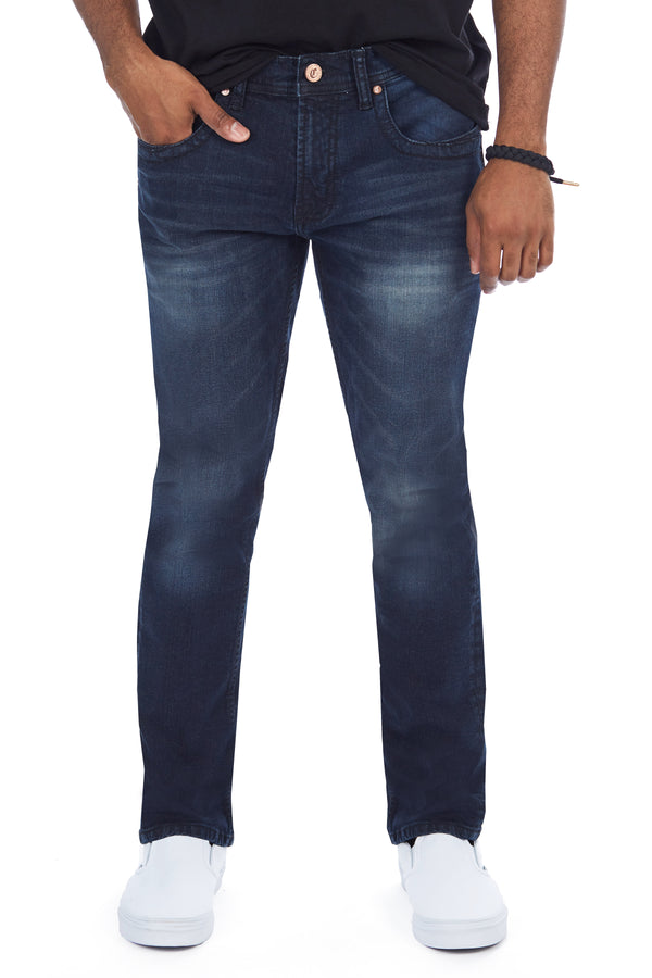 CMP-99086| Clean Heavy Stitch Dark Blue Jean