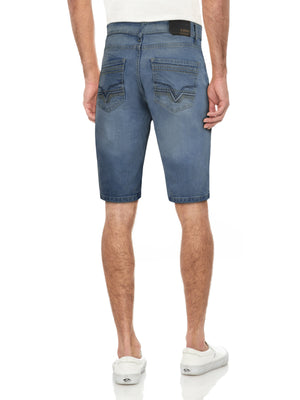 CMS-99165-MEN'S CLASSIC DENIM SHORT