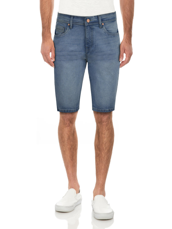 CMS-99166-MEN'S CLASSIC DENIM SHORT