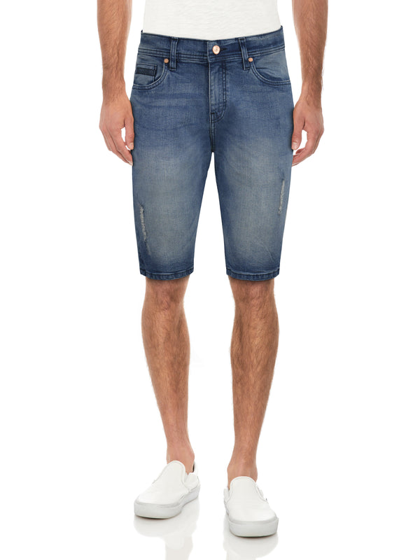 CMS-99168-MEN'S CLASSIC DENIM SHORT