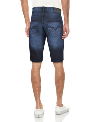 CMS-99172-MEN'S CLASSIC DENIM SHORT