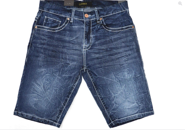 CMS-99303-MEN'S CLASSIC DENIM SHORTS