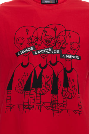 RXTS-20097 | Relaxed Fit Graphic T-Shirts, ET 4 Minds