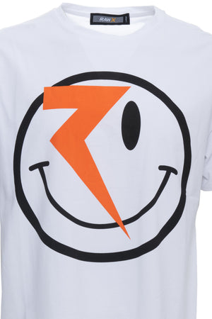 RXTS-20099 | Relaxed Fit Graphic T-Shirts, Flash Smile