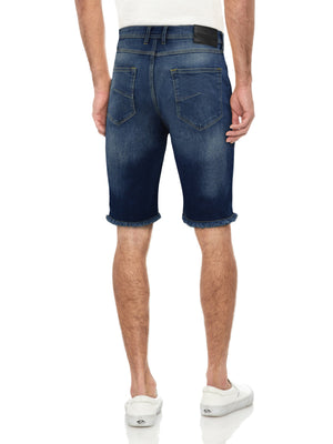 XMS-99274 | MEN'S CLEAN WASH DENIM SHORTS