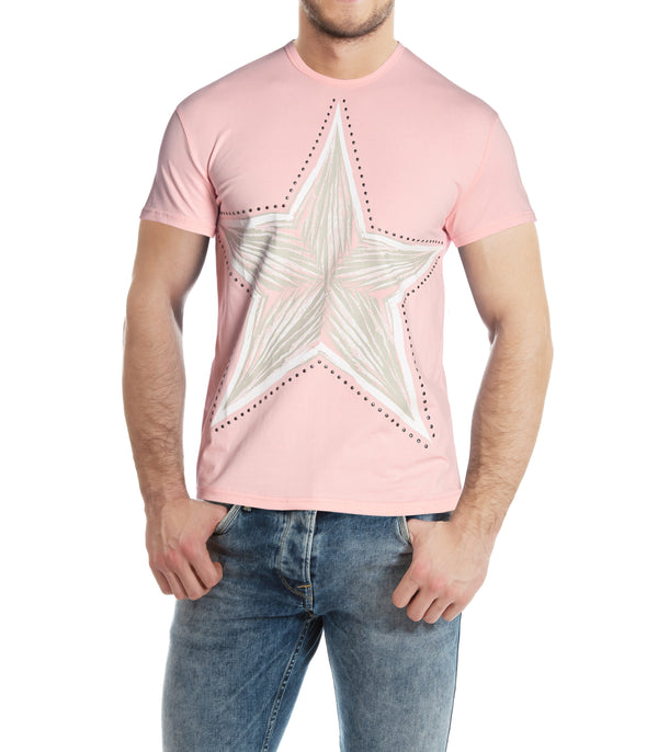 XMTS-27042-MEN'S GRAPHIC T-SHIRT