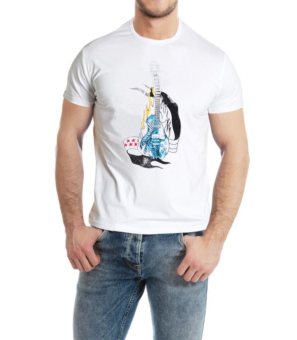 XMTS-27068-MEN'S GRAPHIC T-SHIRT