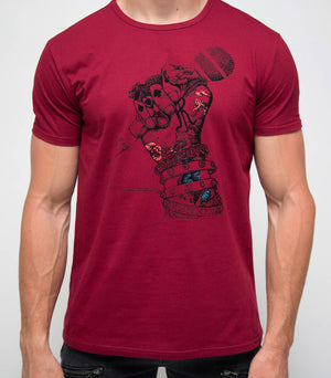 XMTS-27069-MEN'S GRAPHIC T-SHIRT