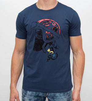 XMTS-27072-MEN'S GRAPHIC T-SHIRT