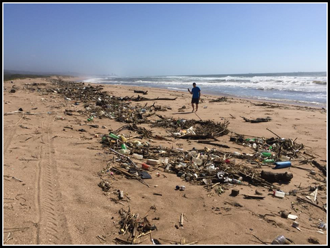 Our South African coastline is threatened by a continuous stream of waste, please consume responsibly.