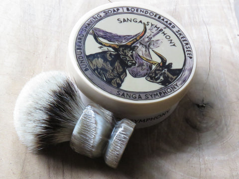 Sanga Symphony Tallow shaving soap