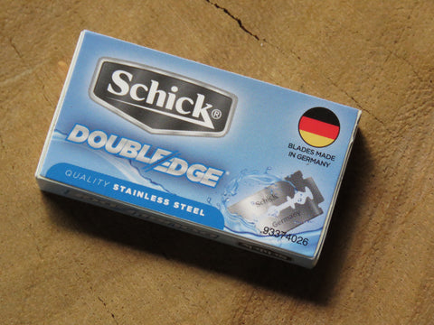 Schick double edged blades