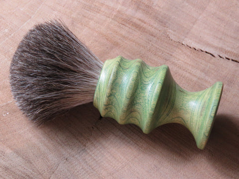 Car air freshener with a Mixed Badger knot. (CB164) - Bundubeard