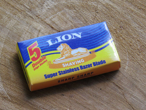 Lion blades for Safety Razor