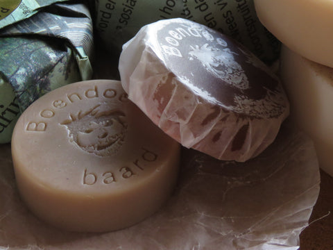 Bundubeard shampoo/conditioner bar (4 bars per pack) - Bundubeard