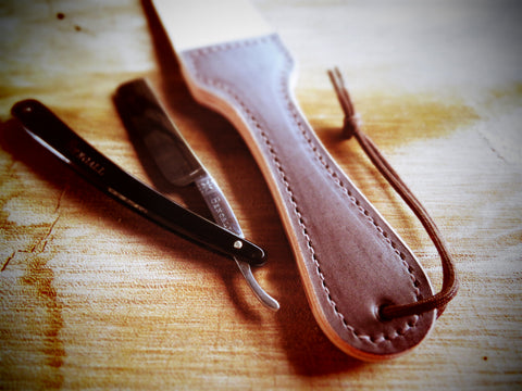 Cowhide strop (South African leather) - Bundubeard