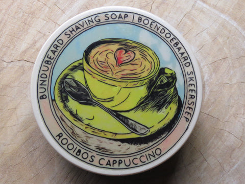 'Rooibos cappuchino' shaving soap. - Bundubeard