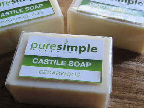 Castile body soap Pure Simple