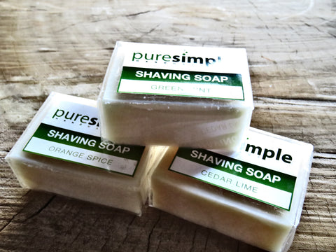 Pure Simple shaving soap - Bundubeard