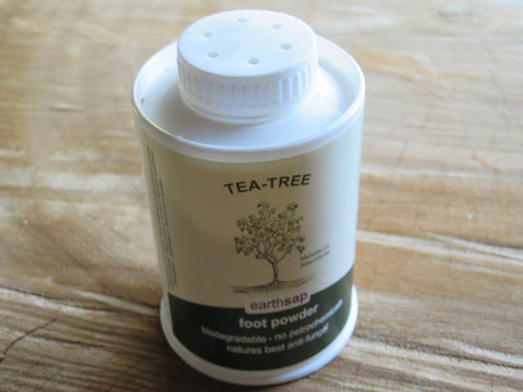 Earthsap Foot Powder Tea-tree (150ml) - Bundubeard