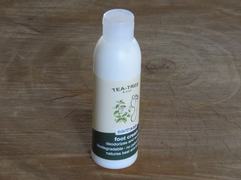 Earthsap Foot Cream Tea-tree and mint - Bundubeard