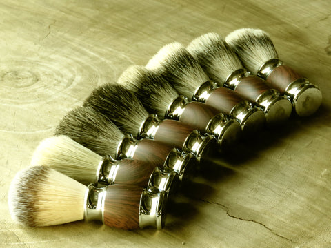 Brush dark wood wrapping - Bundubeard