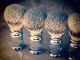 Brush chrome with vertical pattern - Bundubeard