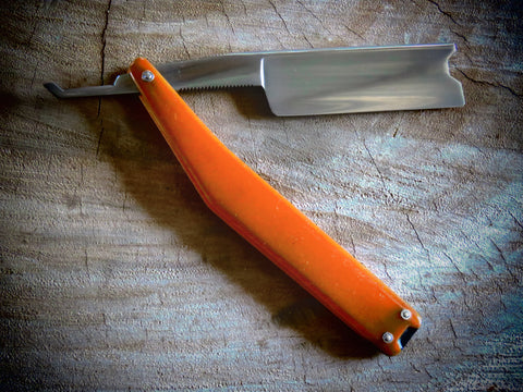 Custom straight Razor CS9 - Bundubeard