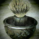 Mpingo Lathering bowl/shaving soap bowl - Bundubeard