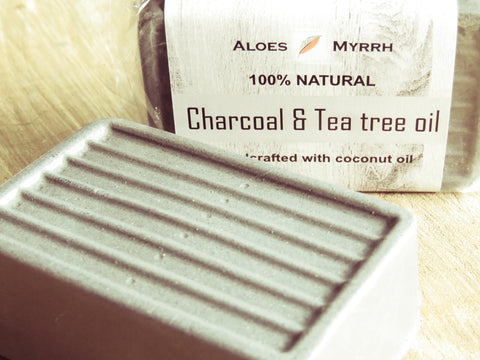 Aloes Myrrh Charcoal and teatree soap - Bundubeard
